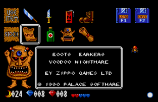 Voodoo Nightmare Atari ST 78