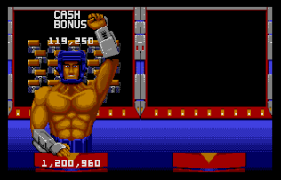 Smash TV Atari ST 21