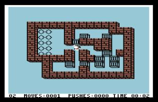 Sokoban C64 11
