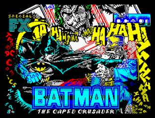 Batman The Caped Crusader ZX Spectrum 01