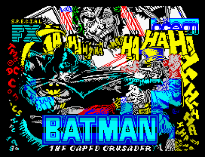 Batman The Caped Crusader ZX Spectrum 01