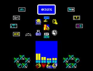 Batman The Caped Crusader ZX Spectrum 42