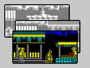 Batman The Caped Crusader ZX Spectrum 54