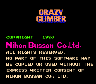 Crazy Climber Arcade 01