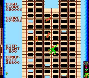 Crazy Climber Arcade 45