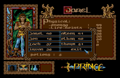 Crystals of Arborea Amiga 34