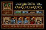 Crystals of Arborea Amiga 90