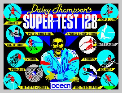 Daley Thompson's Supertest ZX Spectrum 01