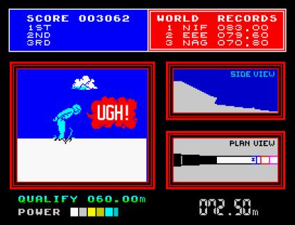 Daley Thompson's Supertest ZX Spectrum 12