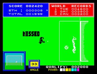 Daley Thompson's Supertest ZX Spectrum 21