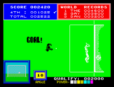Daley Thompson's Supertest ZX Spectrum 22