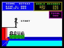 Daley Thompson's Supertest ZX Spectrum 40
