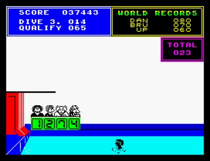 Daley Thompson's Supertest ZX Spectrum 42