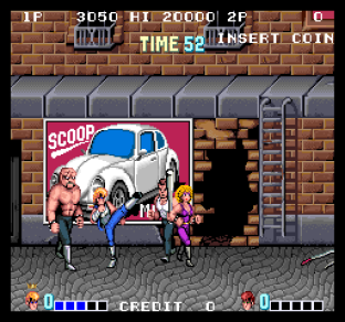 Double Dragon Arcade 12