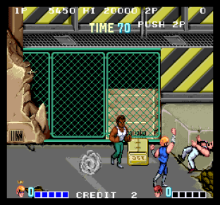 Double Dragon Arcade 20