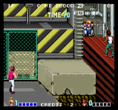 Double Dragon Arcade 21