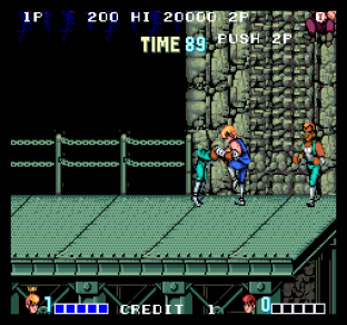 Double Dragon Arcade 56