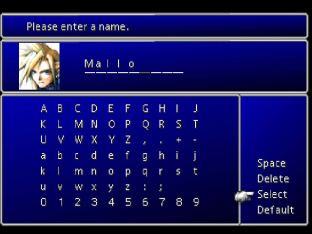 Final Fantasy 7 PS1 009