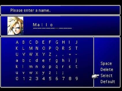 Final Fantasy 7 PS1 009