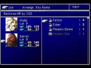 Final Fantasy 7 PS1 065