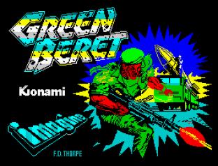 Green Beret ZX Spectrum 01