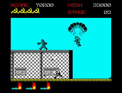 Green Beret ZX Spectrum 20
