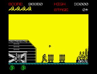 Green Beret ZX Spectrum 23