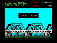 Green Beret ZX Spectrum 30