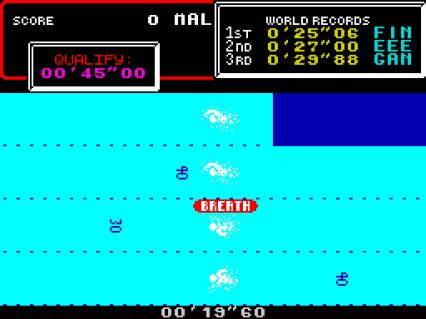 Hyper Sports ZX Spectrum 06