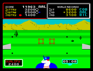 Hyper Sports ZX Spectrum 10