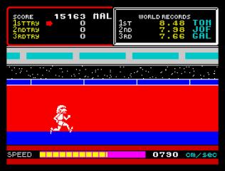 Hyper Sports ZX Spectrum 11