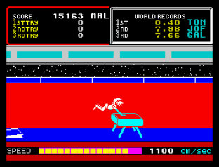 Hyper Sports ZX Spectrum 12