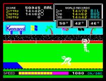 Hyper Sports ZX Spectrum 20
