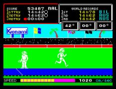 Hyper Sports ZX Spectrum 21