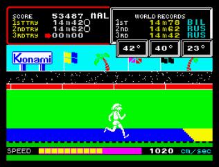 Hyper Sports ZX Spectrum 22