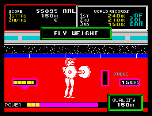 Hyper Sports ZX Spectrum 23