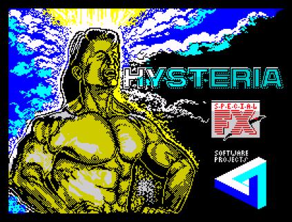 Hysteria ZX Spectrum 01