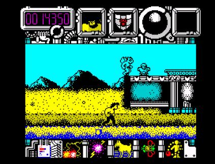 Hysteria ZX Spectrum 09