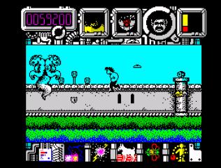 Hysteria ZX Spectrum 32