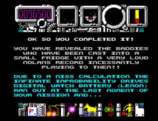 Hysteria ZX Spectrum 60