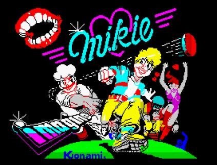 Mikie ZX Spectrum 01