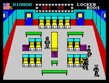 Mikie ZX Spectrum 09