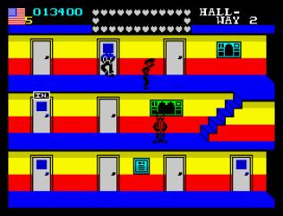 Mikie ZX Spectrum 11