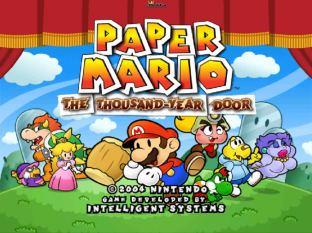 Paper Mario - The Thousand Year Door Gamecube 001