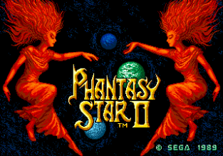 Phantasy Star 2 Megadrive 001