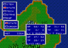 Phantasy Star 2 Megadrive 044