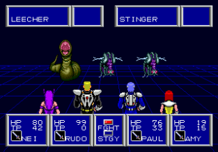 Phantasy Star 2 Megadrive 100