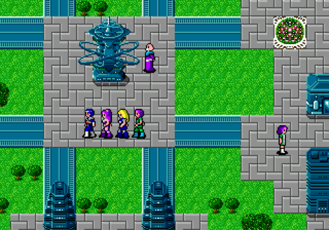 Phantasy Star 2 Megadrive 136