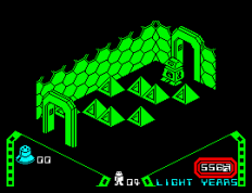 Alien 8 ZX Spectrum 10