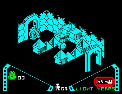 Alien 8 ZX Spectrum 12
